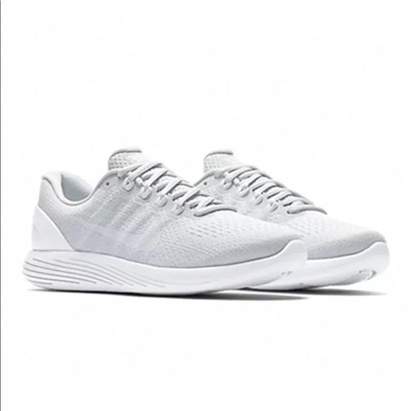 b41d02cbed62e NIB White Nike Lunarglide 9 Women s size 7.5 8